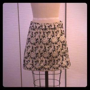 UO wrap pencil mini skirt